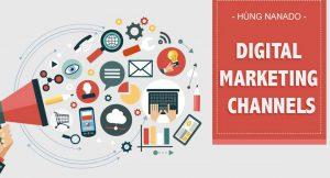 các kênh digital marketing