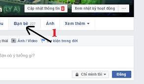 cách ẩn bạn bè trên facebook 1