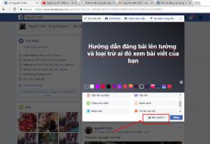 cách chặn 1 số người xem bài đăng trên facebook