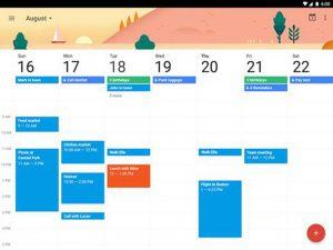 cách sử dụng google calendar