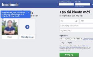 facebook bị hack