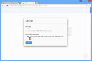hướng dẫn sử dụng google docs