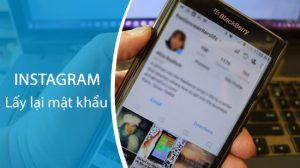 quên mật khẩu instagram