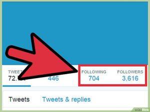 tăng follow twitter