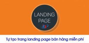 tạo landing page miễn phí