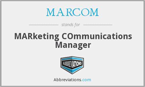 kinh nghiệm manager marcom là gì