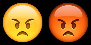 biểu tượng cảm xúc tức giận biểu tượng cảm xúc màu đỏ