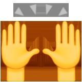 tay ca ngợi biểu tượng cảm xúc biểu tượng cảm xúc