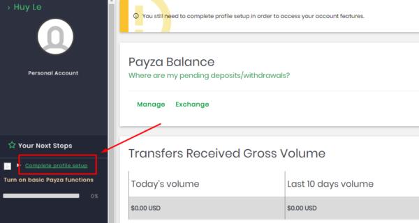 hướng dẫn đăng ký tài khoản payza mới nhất