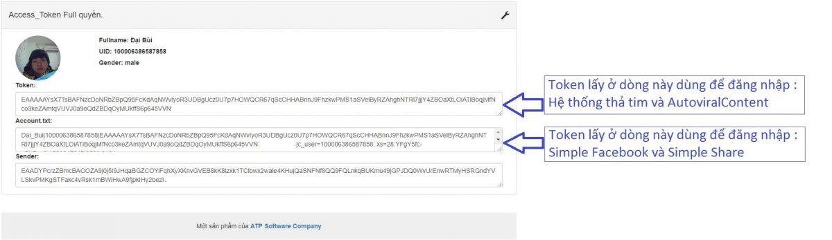 Hướng dẫn get token full quyền - ATP TOKEN - image token on https://atpsoftware.vn