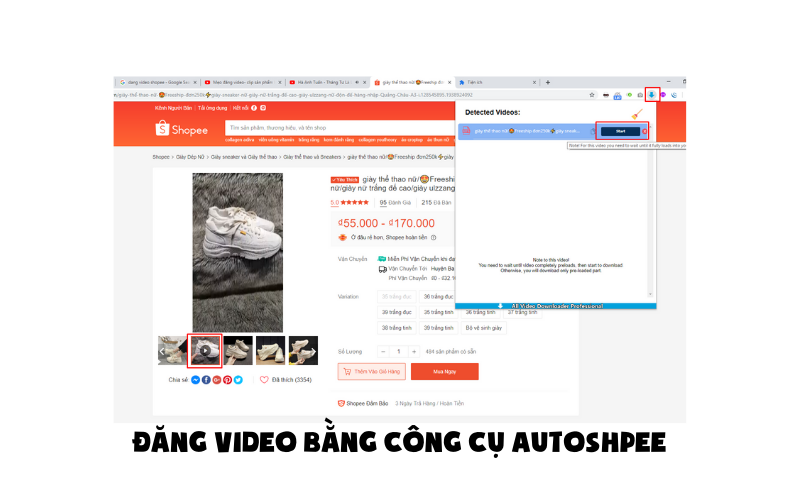 Dang video bang cong cu autoshpee