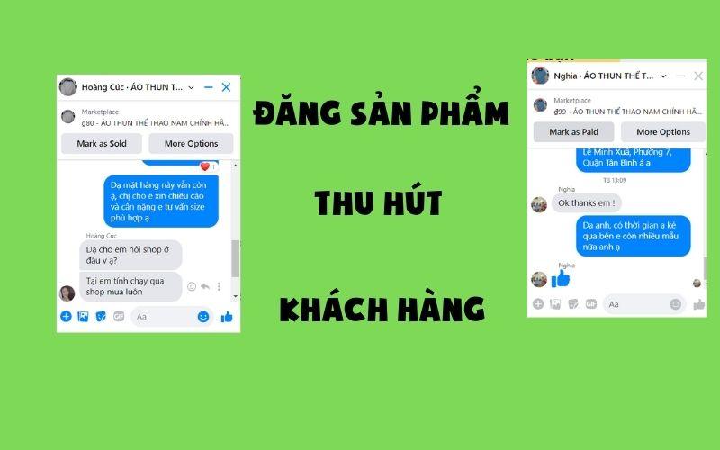 dang san pham marketplace