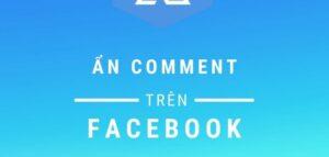 ẩn bình luận trên Facebook