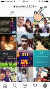 liên kết tài khoản facebook với Instagram