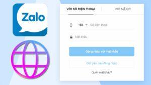 cách đăng nhập Zalo bằng mã QR